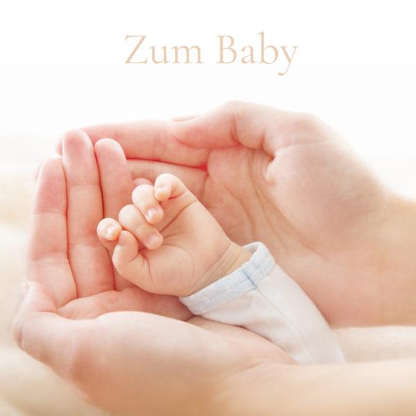 Geschenkkarte Zum Baby