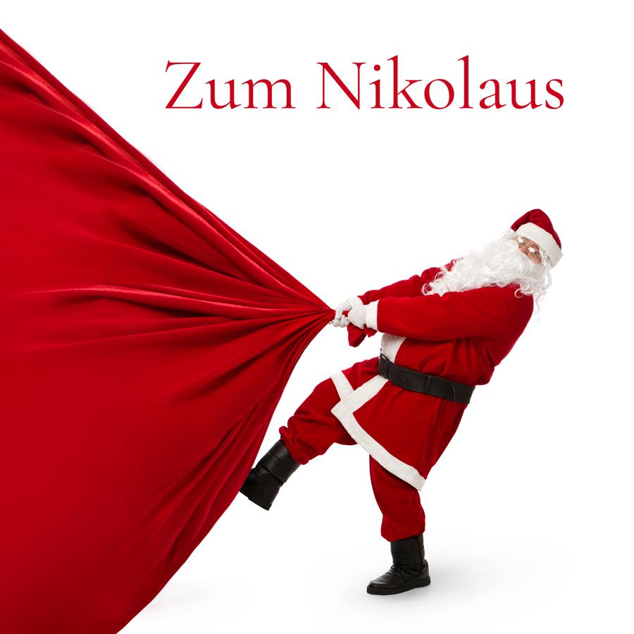 Geschenkkarte Zum Nikolaus