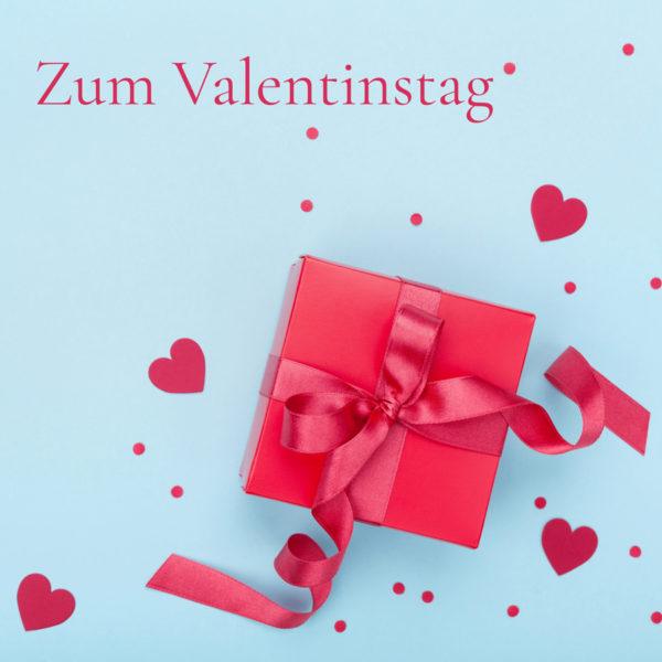 Geschenkkarte Zum Valentinstag