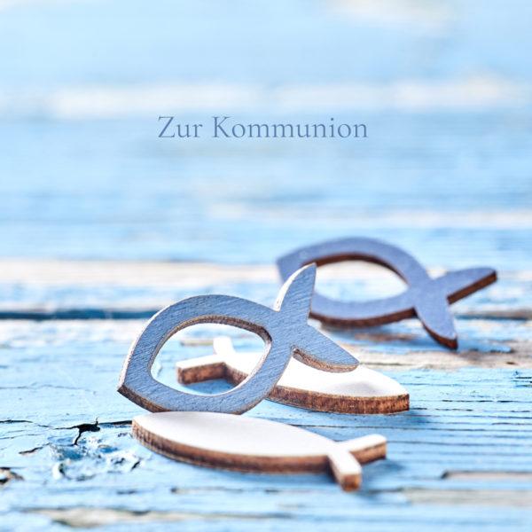 Geschenkkarte Zur Kommunion